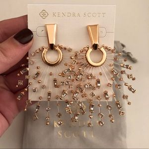 Kendra Scott Rose Gold Fabia Earring